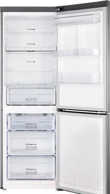 Холодильник с морозильником Samsung RB30A32N0SA/WT