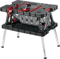 Верстак Keter Folding Work Table / 17182239 (черный) -