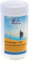 Средство для бассейна дезинфицирующее Chemoform Кемохлор Т-65 гранулированное (1кг) -