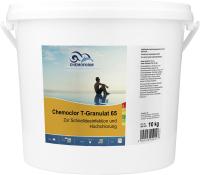 Средство для бассейна дезинфицирующее Chemoform Кемохлор Т-65 гранулированное (10кг) -