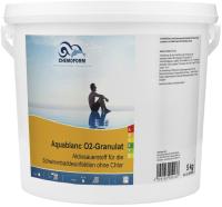 Средство для бассейна дезинфицирующее Chemoform Аквабланк О2 гранулированное (5кг) -