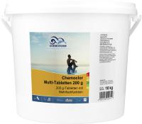 Средство для бассейна дезинфицирующее Chemoform Всё-в-одном мульти-таблетки по 200гр (10кг) -