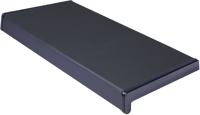 Подоконник VPL Премиум с заглушкой 300x2000 (антрацит) -