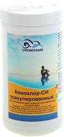 Средство для бассейна дезинфицирующее Chemoform Кемохлор СН гранулированное (1кг) -