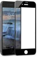 Защитное стекло для телефона Case 3D для iPhone SE 2020 (черный глянец) -