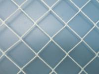 Футбольная сетка Luxsol Безузловая 5.1x2.1x0.5/0.5м (2.2мм, белый) -