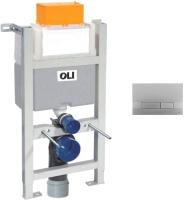 Инсталляция для унитаза Oli Expert 82 / 721703 + 152941 (матовый хром) -
