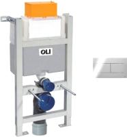Инсталляция для унитаза Oli Expert 82 / 721703 + 659044 (хром) -