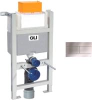 Инсталляция для унитаза Oli Expert 82 / 721703 + 659046 (матовый хром) -