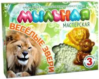 Набор для изготовления мыла Инновации для детей Мыльная мастерская. Веселые звери / 748 -