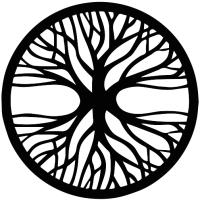 Декор настенный Arthata Энергетическое дерево 60x60-B / 066-1 (черный) -