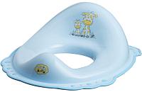 Детская накладка на унитаз Maltex Жираф / 1506 (голубой) -