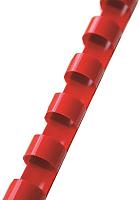 Пружины для переплета ARGO S.A. PBCred12.5 12.5мм (100шт, красный) -