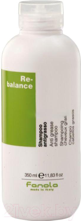 Купить Шампунь для волос Fanola, Rebalance против жирной кожи головы и волос (350мл), Италия