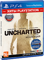 Игра для игровой консоли Sony PlayStation 4 Uncharted: Натан Дрейк. Коллекция (Хиты PlayStation) -