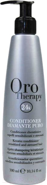 Купить Кондиционер для волос Fanola, Oro Therapy 24k Diamante Puro для чувствительной кожи головы (300мл), Италия, Oro Therapy (Fanola)