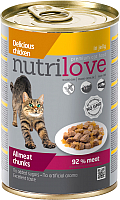 Корм для кошек Nutrilove Chicken in jelly (400г) -