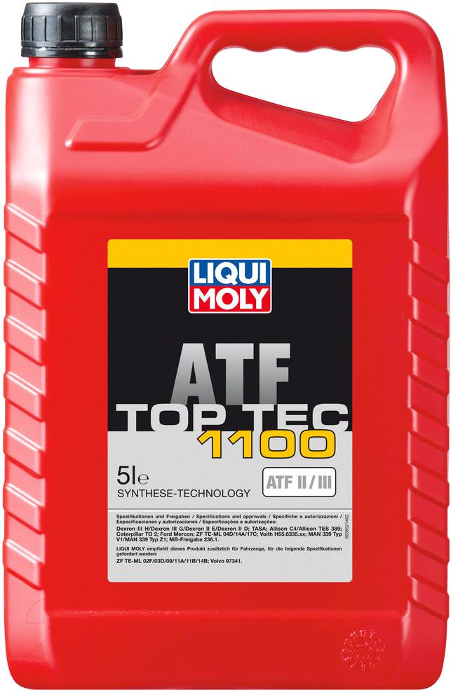 Купить Трансмиссионное масло Liqui Moly, Top Tec ATF 1100 / 3652 (5л), Германия