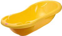 Ванночка детская Maltex Классик / 0936 (желтый) -