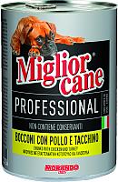 Корм для собак Miglior Cane Professional Line Chicken & Turkey (1.25кг) -