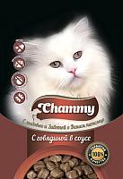 Корм для кошек Chammy Говядина в соусе (85г) -