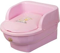 Детский горшок Maltex Трон. Жираф / 8054 (розовый) -