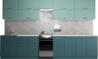Готовая кухня Хоум Лайн Гранд Лайт 50-3.5 (бензин/сумеречный голубой) -