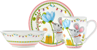 Набор столовой посуды Walmer Miss Mouse / W16190333 -