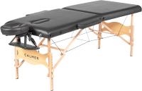 Массажный стол Calmer Bamboo Two 60 (черный) -