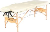 Массажный стол Calmer Bamboo Two 60 (бежевый) -