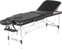 Массажный стол Calmer Grotto Three 60 (черный) -