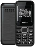 Мобильный телефон Texet TM-120 (черный/красный) -