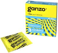 Презервативы Ganzo Ribs №3 -