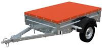 Прицеп для автомобиля Экспедиция Стандарт плюс 111200 Евро (R13, 2000x1250x300, тент 200-050, оранжевый) -
