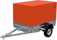Прицеп для автомобиля Экспедиция Стандарт плюс 111200 Евро (R13, 2000x1250x300, тент/каркас 200-900, оранжевый) -