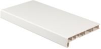 Подоконник Crystallit Премиум 250x1600 (белый глянец) -