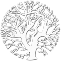 Декор настенный Arthata Оливковое дерево 35x35-V / 072-1 (белый) -