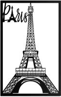 Декор настенный Arthata Эйфелева башня 50x95-B / 074-1 (черный) -