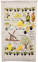 Полотенце Multitekstil KITCHEN/B1 (лимон) -