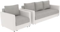 Комплект мягкой мебели Divanta Эдем 7 3-6 (диван, кресло) -