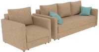 Комплект мягкой мебели Divanta Эдем 7 14 (диван, кресло) -
