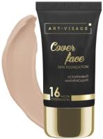 Тональный крем Art-Visage Cover Face тон 202 светло-бежевый (25мл) -