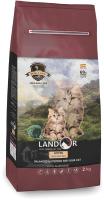 Корм для кошек Landor Полнорационный для котят утка с рисом / 7843110 (2кг) -
