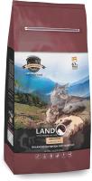 Корм для кошек Landor Полнорационный, с чувств. пищеварением ягненок с рисом / 7843102 (400г) -