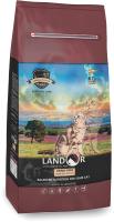 Корм для кошек Landor Контроль образ. ком. шерсти и веса ягненок с бататом / 7843124 (10кг) -