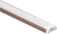 Профиль для светодиодной ленты Elektrostandard LL-2-ALP012 (латунь/белый) -