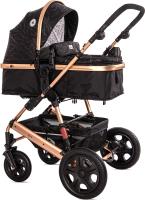Детская универсальная коляска Lorelli Lora 2 в 1 Luxe Black / 10021272186 -