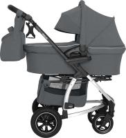 Детская универсальная коляска Carrello Vista 2 в 1 / CRL-6506 (Steel Gray) -