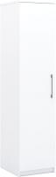 Шкаф-пенал Империал Аврора 1-дверный (белый) -