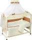 Комплект постельный в кроватку Топотушки Бамбино / 717М (бежевый) -